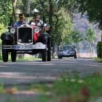 Ältestes Fahrzeug  Opel 4/16 aus dem Jahr 1928.