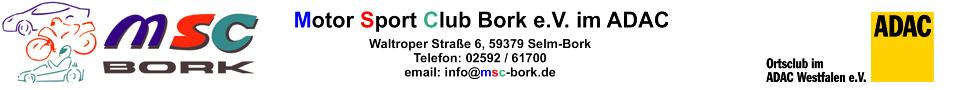 DER aktive Motorsportclub in Selm!